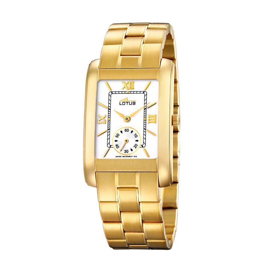 Reloj Lotus ORO caballero