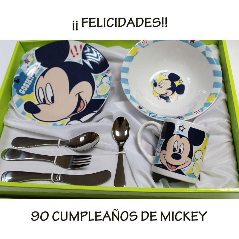 Set vajilla Mickey